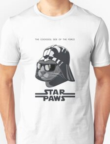 Darth Kitty - Classic grey Unisex T-Shirt