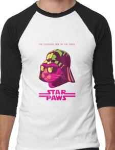 Darth Kitty - Neon Men's Baseball ¾ T-Shirt