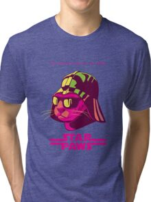 Darth Kitty - Neon Tri-blend T-Shirt