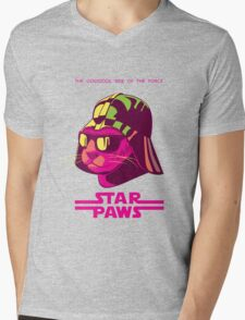 Darth Kitty - Neon Mens V-Neck T-Shirt
