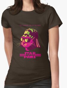 Darth Kitty - Neon Womens Fitted T-Shirt