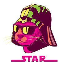 Darth Kitty - Neon by Duncan Maclean