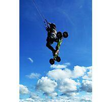 Extreme Sports - Kiteboarding Photographic Print