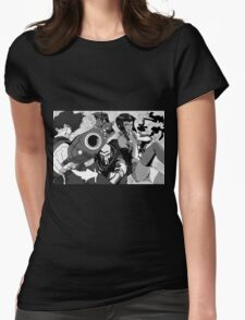 Cowboy Bebop Womens Fitted T-Shirt