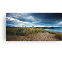 Sand Dunes, Cape Deslacs, Tasmania Canvas Print