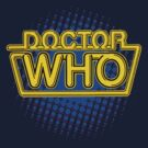 Doctor Who Classic Logo (Yellow) by ixrid