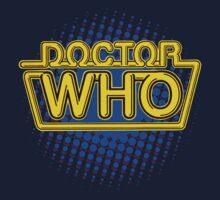 Doctor Who Classic Logo (Yellow)