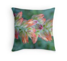 Tiny colours Throw Pillow