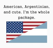 American Argentinian And Cute Kids Clothes