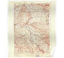 USGS Topo Map Oregon Boring 282269 1914 62500 Poster