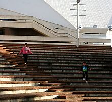 Stairway To Success by Cherie Vivar