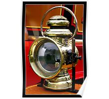 Traction Engine Light Poster