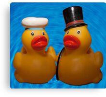 Love-a-duck Canvas Print