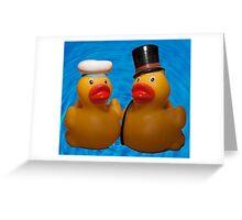 Love-a-duck Greeting Card