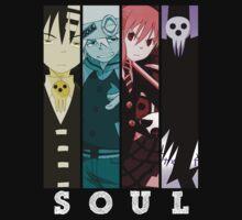 soul eater death maka soul death the kid anime manga shirt by ToDum2Lov3