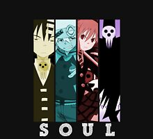 soul eater death maka soul death the kid anime manga shirt Unisex T-Shirt