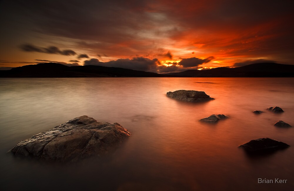 Sunset Skies by Brian Kerr