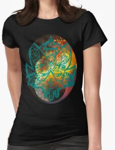 spatial collisions Womens Fitted T-Shirt