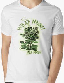 WILD IRISH ROSE 2.0 Mens V-Neck T-Shirt