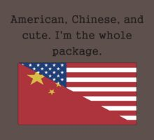 American Chinese And Cute Kids Clothes