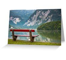 Hallstatt in Austria-003 Greeting Card