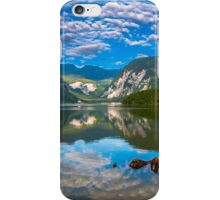 Hallstatt in Austria-004 iPhone Case/Skin