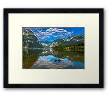 Hallstatt in Austria-004 Framed Print