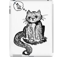 Ink Cat iPad Case/Skin