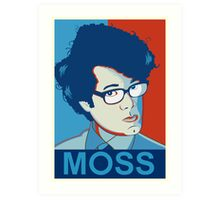Moss | The IT Crowd Art Print