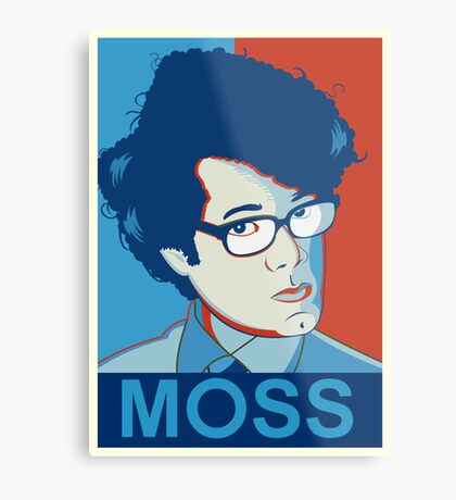 Moss | The IT Crowd Metal Print