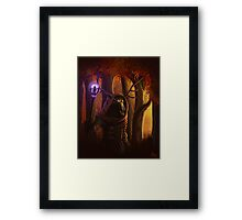 Autumn Fire Framed Print