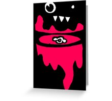 monstersblood Greeting Card