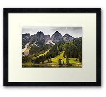 Hallstatt in Austria-009 Framed Print