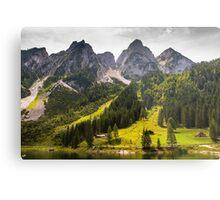 Hallstatt in Austria-009 Metal Print