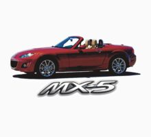 Mazda MX-5 Miata Kids Clothes