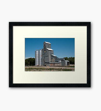 GTA Feeds Elevator, Choteau, Montana Framed Print