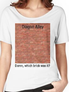 Diagon Alley Entrance Confusion Women's Relaxed Fit T-Shirt