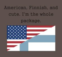 American Finnish And Cute Kids Clothes