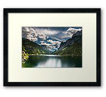 Hallstatt in Austria-010 Framed Print