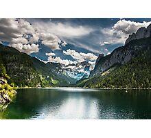 Hallstatt in Austria-010 Photographic Print
