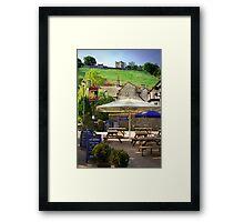 The George, Castleton. Framed Print