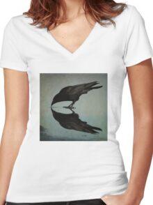 Narcissism  Women's Fitted V-Neck T-Shirt