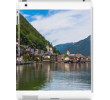 Hallstatt in Austria-011 iPad Case/Skin