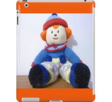 Hand knitted Clowns iPad Case/Skin