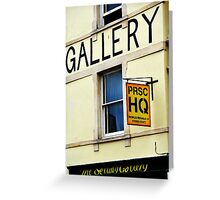 Gallery Greeting Card