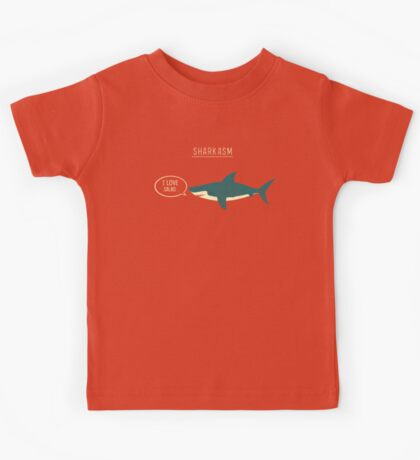 Sharkasm Kids Tee
