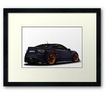 Toyota GT 86 Framed Print