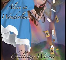 Alice in Wonderland Winner Banner Entry by Audra Lemke