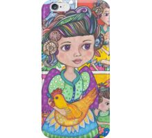 Saving the factory farmed animals! iPhone Case/Skin
