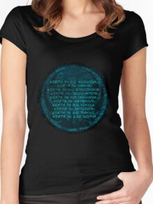 The Jedi code Women's Fitted Scoop T-Shirt